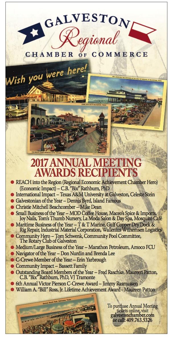 Galveston Realtor receives award
